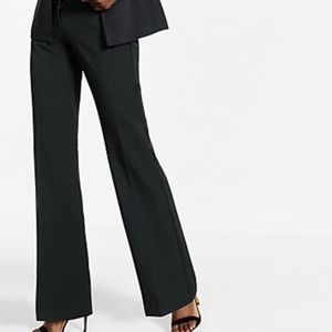 Black editor express pants
